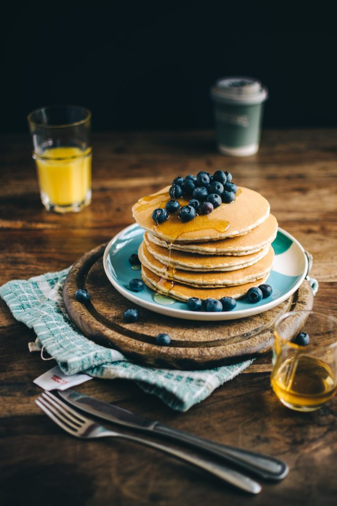 Pancake dishes